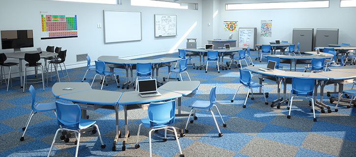 University Of Cincinnati Classroom Design Guide : Classroom furniture for classrooms smith system