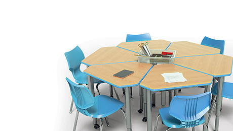 collaborative desks